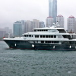 Superyacht Tiger Shark completed in China